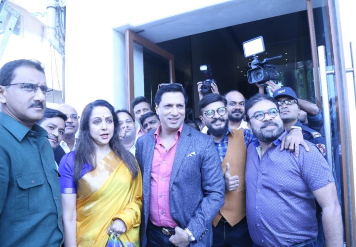 HEMA MALINI & MADHUR BHANDARKAR LAUNCHES A TRIBUTE TO INDIAN ARMY WITH ATHARVA FOUNDATION