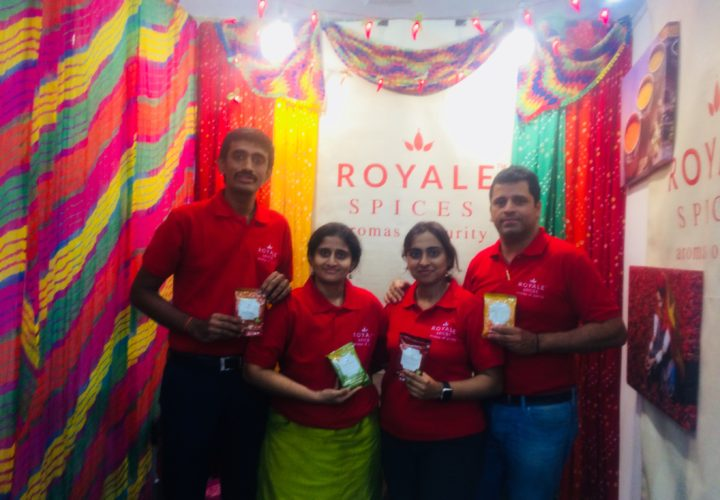 KIYA FOODS PVT LTD LAUNCHES ROYALE SPICES  AROMAS OF PURITY