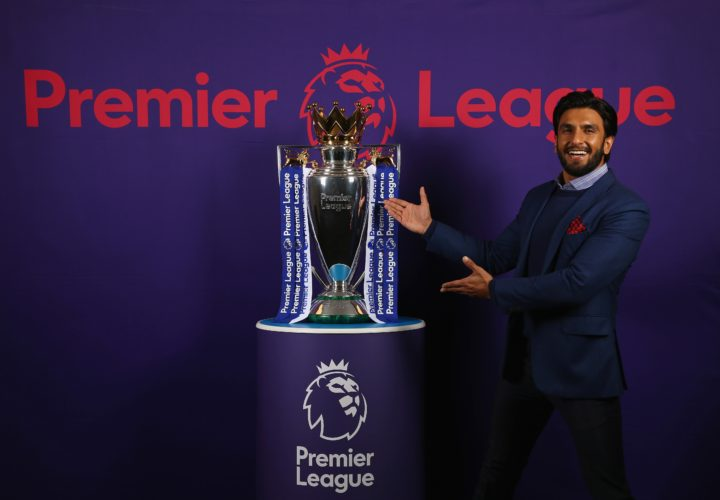 Bollywood star Ranveer Singh partners with the Premier League in India