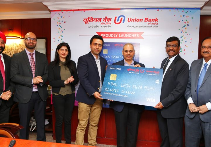 Union Bank of India Launches Contactless Debit Cards.