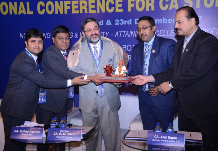 NATIONAL CONFERENCE FOR CA STUDENTS was successfully Organized by Board of Studies, ICAI and Hosted by WIRC ,ICAI
