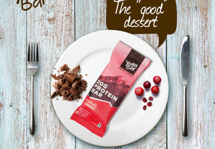 Go the extra mile with Yoga Protein Bar