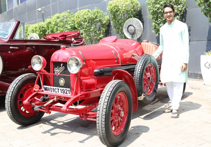 A Royal Ensemble of the Best Vintage Cars in Town Hosted at Sofitel Mumbai BKC