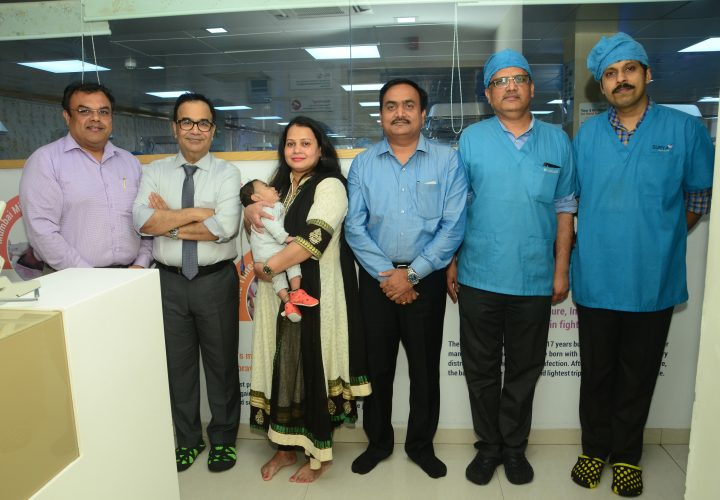 Surya Hospitals Successfully Performed Intra-pulmonary Stem Cell Therapy